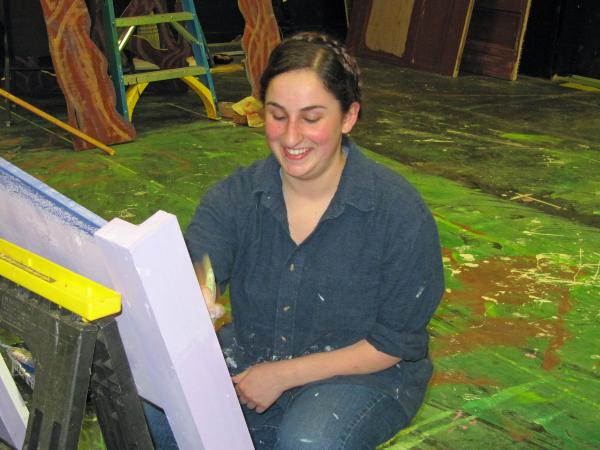 Cami Shishko, a graduate of A.R.T., now attends the Cornish College of the Arts in Seattle.