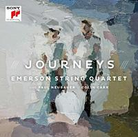 The Emerson String Quartet's new album, <em>Journeys</em>.
