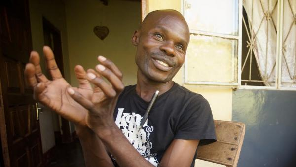 David Kato, a teacher and LGBT rights activist — as well as the first openly gay man in Uganda — is at the forefront of <em>Call Me Kuchu's</em> story.