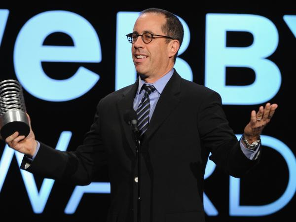 Jerry Seinfeld won a 2013 Webby Award for <em>Comedians in Cars Getting Coffee.</em>