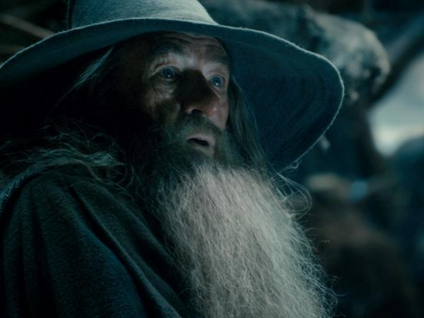 Sir Ian McKellen in<em> The Hobbit: The Desolation Of Smaug</em>.