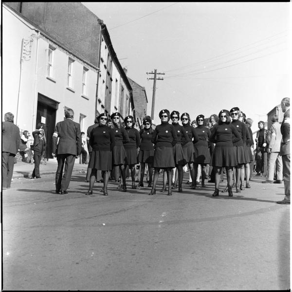 Official IRA members of Cumann na mBan on Easter Sunday in Downpatrick, Northern Ireland, 1974.