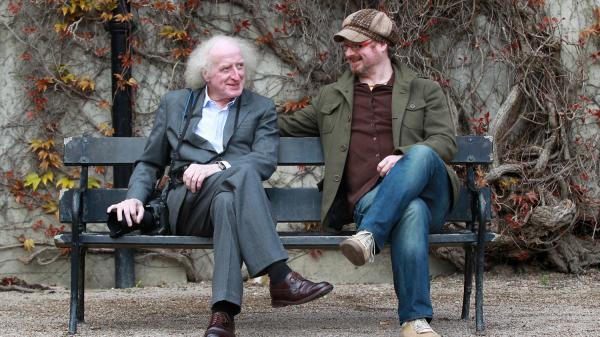 Bobbie Hanvey and his son Steafán Hanvey, in Northern Ireland.