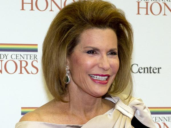 Nancy Brinker, founder of the Susan G. Komen for the Cure Foundation, seen at a dinner honoring the recipients of the 2012 Kennedy Center Honors in December.