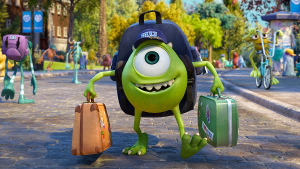 For Billy Crystal's Mike, the big green eyeball of <em>Monsters University,</em> scaring hardly comes naturally.