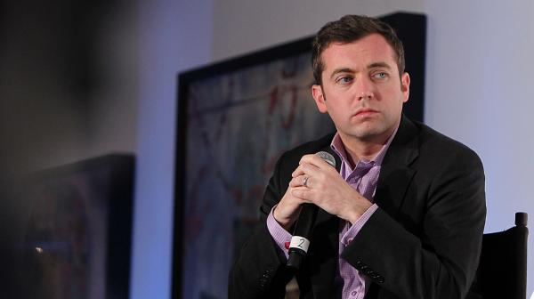 Michael Hastings, 33, has died in a car crash in Los Angeles, according to reports. The author of wartime books and articles that included a candid profile of Gen. Stanley McChrystal is seen here at an event last year.