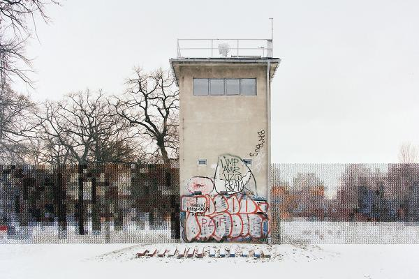 Former Guard Tower Off Puschkinallee, 2013