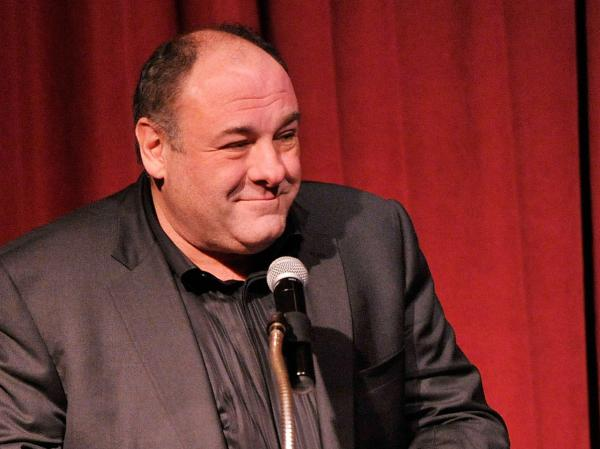 Actor James Gandolfini speaks at the New York Film Critics Circle Awards in January 2013. He died on June 19.