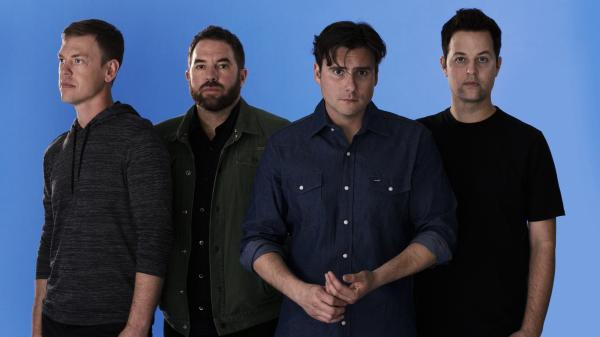 Jimmy Eat World's new album, <em>Damage</em>, is its eighth in 20 years together. Left to right: Rick Burch, Zach Lind, Jim Adkins and Tom Linton.