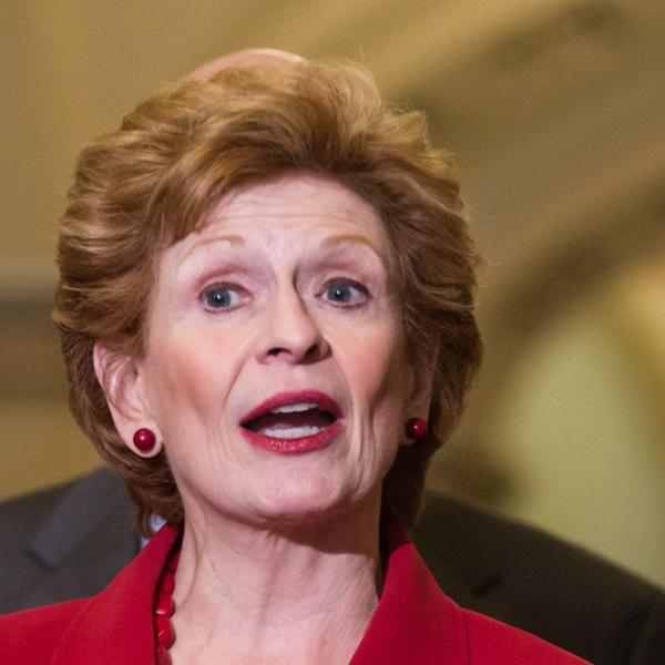 Sen. Debbie Stabenow (D-Mich.) chair of the Senate Agriculture Committee on June 21, 2012, in Washington, D.C.