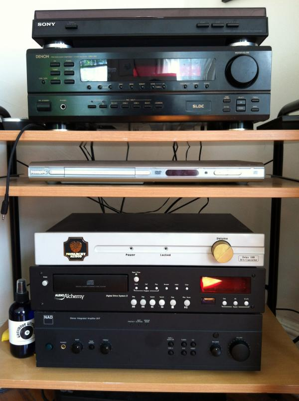 My last major stereo system now belongs to NPR Music's Daoud Tyler-Ameen.
