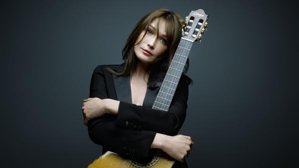 Carla Bruni's new album, her first since her husband, former President Nicolas Sarkozy, left office, is titled <em>Little French Songs</em>.