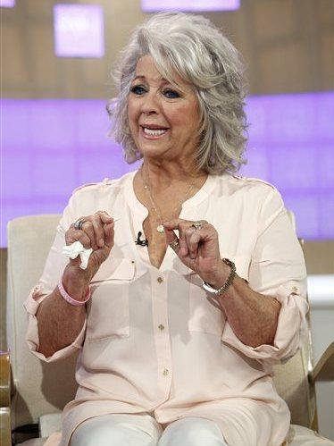 Celebrity chef Paula Deen appears on NBC News' <em>Today</em> show on Wednesday.
