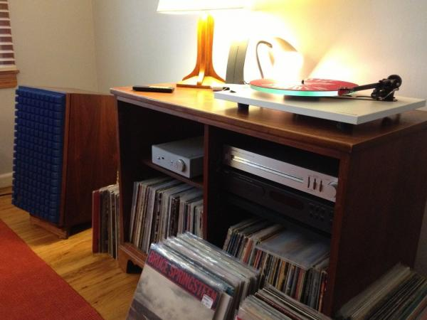 We asked readers what system they listen on, here is reader Andrew Limpic's music listening set up.