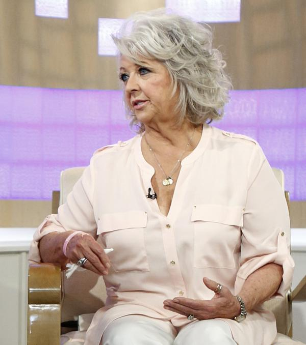 Celebrity cook Paula Deen during an appearance last Wednesday on NBC-TV's<em> The Today Show</em>.