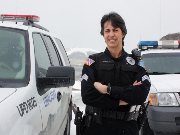 Unalaska's Sgt. Jennifer Schockley has earned fans worldwide for her local police blotter.