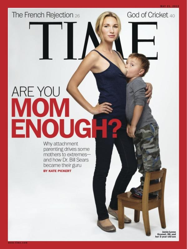 The cover of the May 21, 2012 issue of Time.