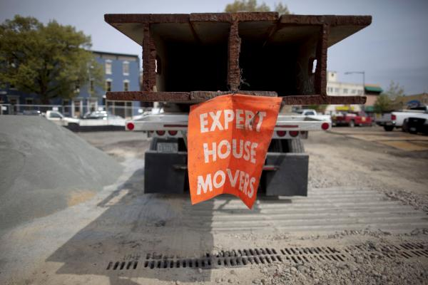 According to Gabriel Matyiko, vice president of Expert House Movers, this job is pretty small potatoes. The company has moved lighthouses and even an airport terminal in Newark, N.J.