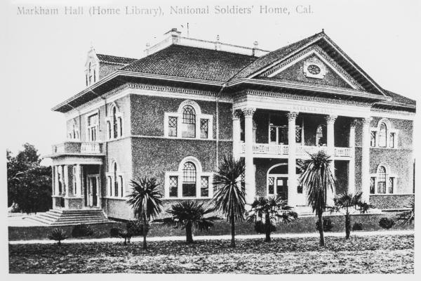 Markham Hall, circa 1900.
