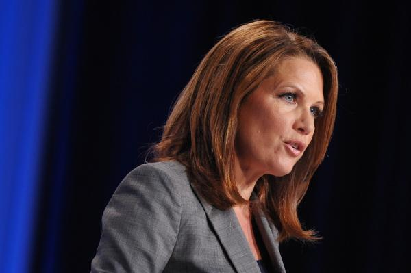 Rep. Michele Bachmann, R-Minn., speaks during the Family Research Council Action Values Voter Summit last month in Washington.