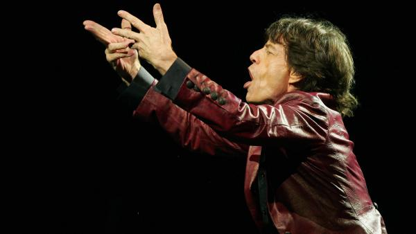 "Mick Jagger says ""Gimme Shelter"" is about a ""world closing in on you."""