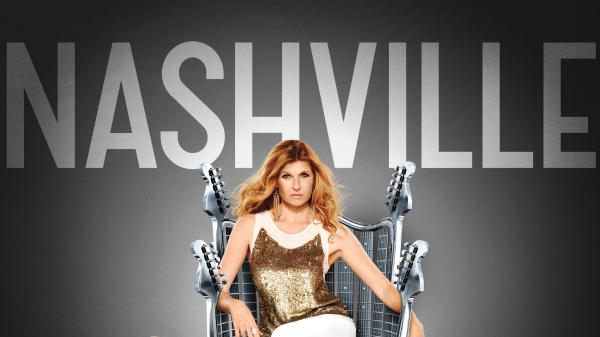 Connie Britton (pictured) and Hayden Panetierre star as country singers of different generations on the ABC series <em>Nashville</em>.