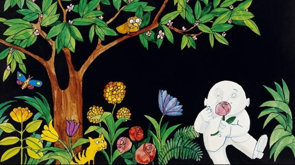 Tomi Ungerer's 1967 book <em>Moon Man</em> follows its lonely protagonist as he visits Earth for the very first time.