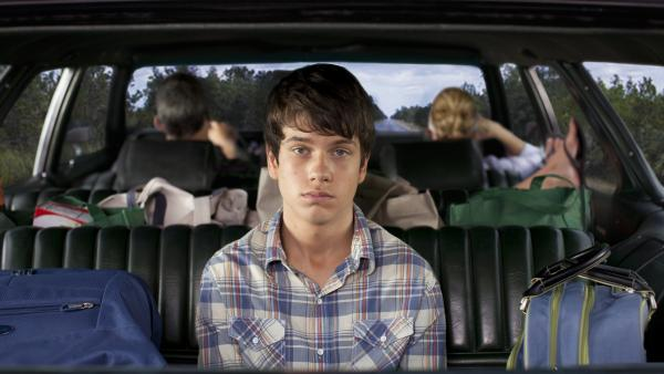 Liam James plays Duncan, a boy of few words but many a feeling, in <em>The Way, Way Back,</em> in which a fractured family discovers a little something about itself on a seaside vacation.