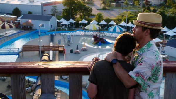 Alienated from his mom, Duncan builds an unexpected friendship with Owen (Sam Rockwell), a slacker local who works — or at least passes the days — at a grotty nearby water park.