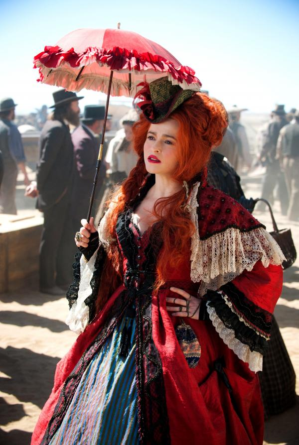 If Johnny Depp's in the film, can Helena Bonham Carter (and a bustier) be far behind? In this <em>Ranger, </em>she plays Red, the madam of a Texas brothel who offers aid and comfort to Tonto and his masked companion.