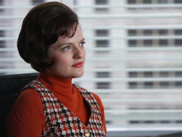 Elisabeth Moss has won widespread acclaim for her portrayal of ambitious copywriter Peggy Olson on AMC's <em>Mad Men</em>.