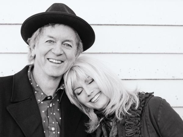 Emmylou Harris and Rodney Crowell have been friends and collaborators since the 1970s. Their new album together is called <em>Old Yellow Moon</em>.