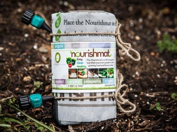 Earth Starter launched a Kickstarter campaign on July 1 to raise money to manufacture more Nourishmats.