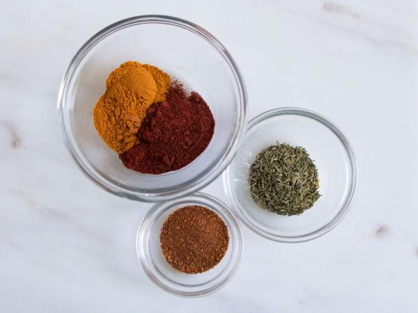 The spices were created by analyzing recipes and correlating ingredients with census data.