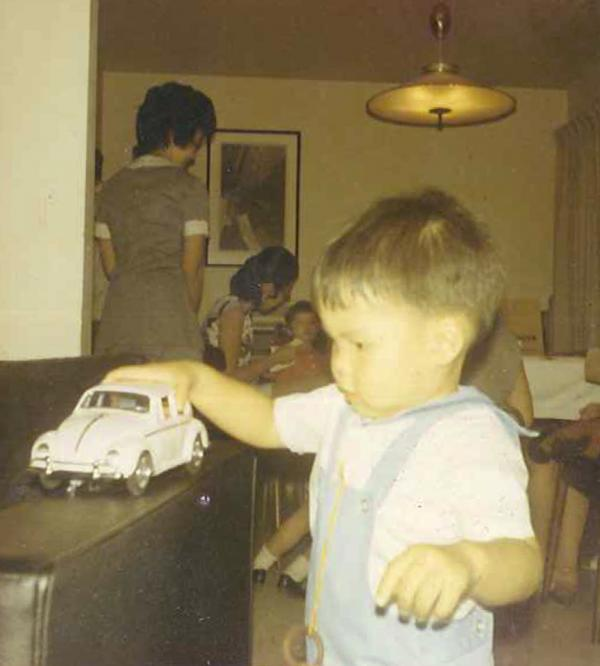 "Mark Takahashi is now one of the ""car people"" at <a href=""http://www.edmunds.com/"">Edmunds.com</a> — but at the age of 2, the future automotive editor, like his co-worker Mike MaGrath, was more of a toy-car person."
