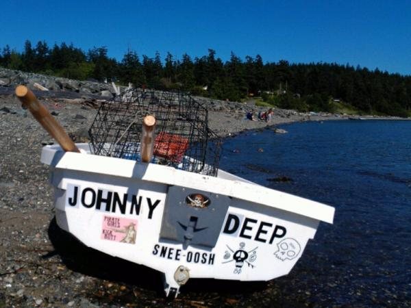 Jennifer Sander bonded with her sons by learning how to fish for crabs together.
