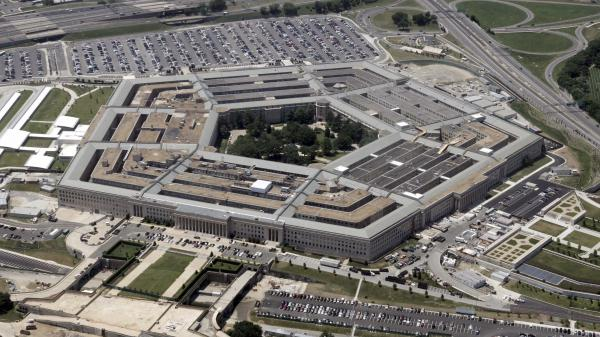The Pentagon building, outside Washington, D.C.