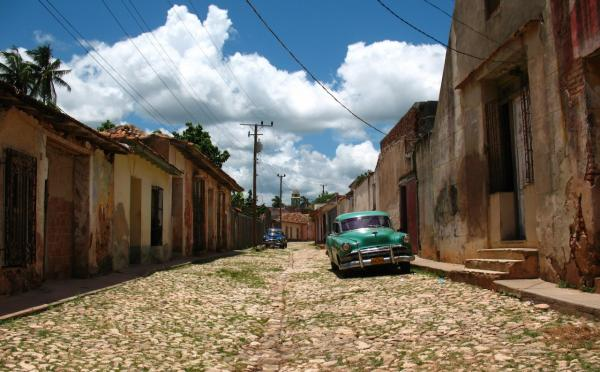 A street in Trinidad, Cuba. (Wikimedia Commons)