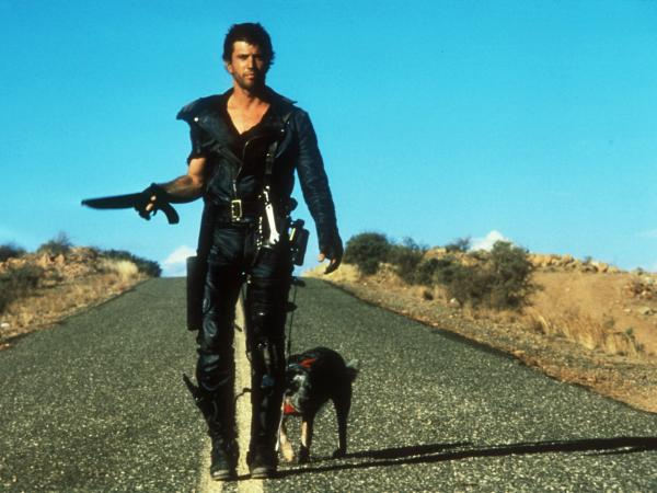 We see a fictional universe stripped of the most basic resources when Mel Gibson's character relishes a can of dog food in <em>Road Warrior</em>.