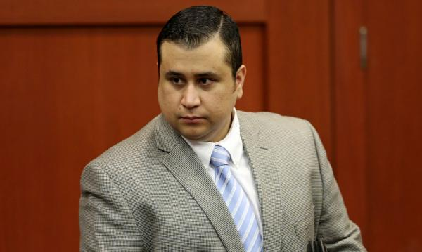 George Zimmerman arrives for his trial in Seminole circuit court in Sanford, Fla. Thursday, July 11, 2013. (Gary W. Green/Orlando Sentinel via AP)