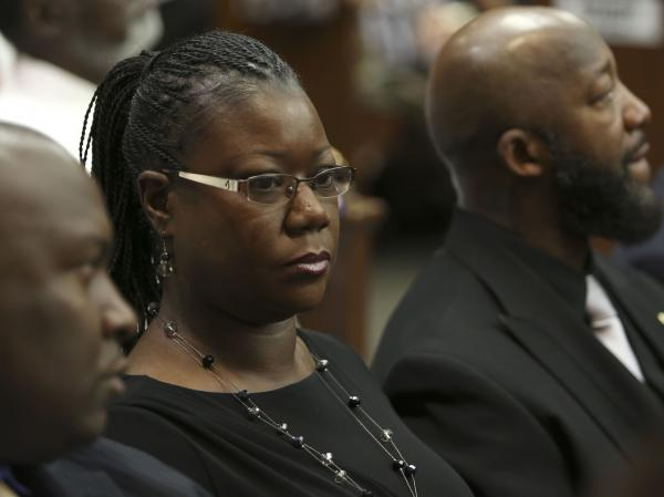 Trayvon Martin's mother, Sybrina Fulton, hears closing arguments in George Zimmerman's trial Thursday in Sanford, Fla. Nearly 60 years ago, Mamie Till used images of her dead son, Emmett, to show the nation how he died.