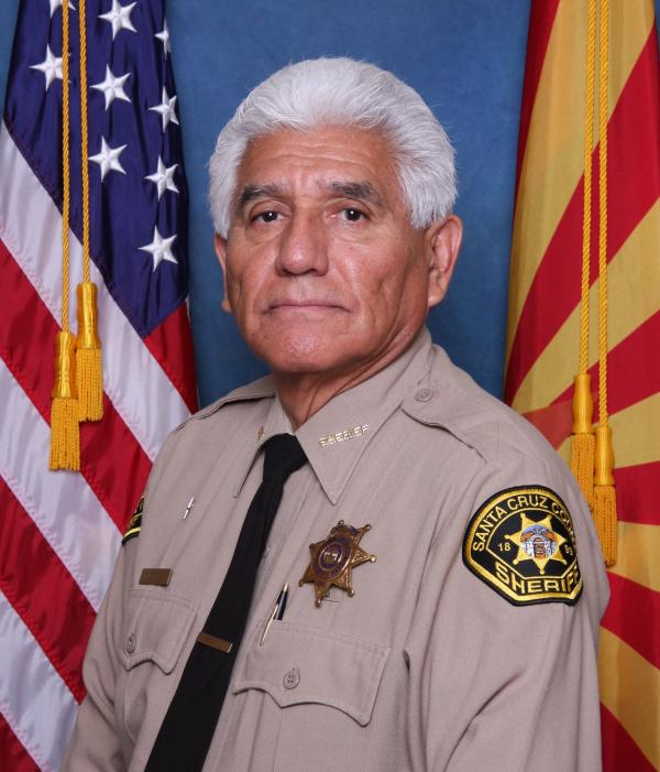 Tony Estrada is the sheriff of Santa Cruz County, Ariz.