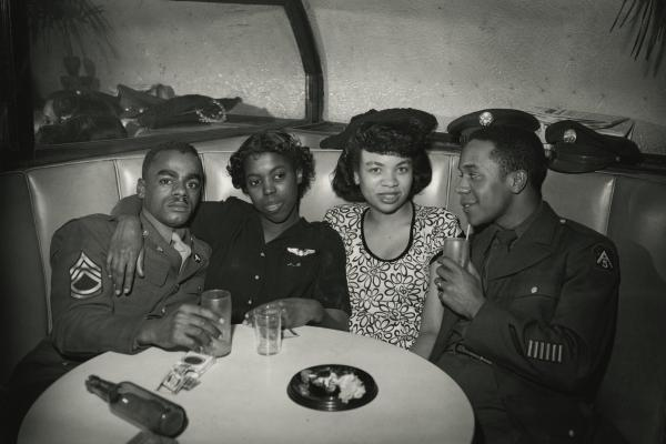 <em>Bar Patrons, Pittsburgh, Penn.</em>, circa late-1940s