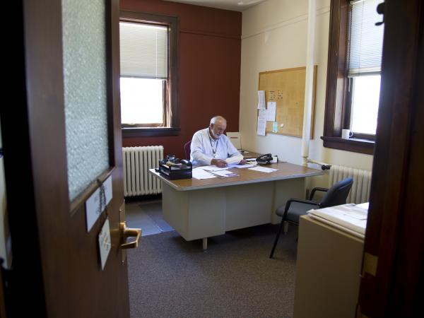 Dale Hippensteel, manages the Sheboygan County health department.