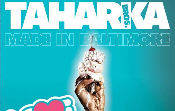 Detail of Taharka Brothers Ice Cream poster. (Taharka Bros.)