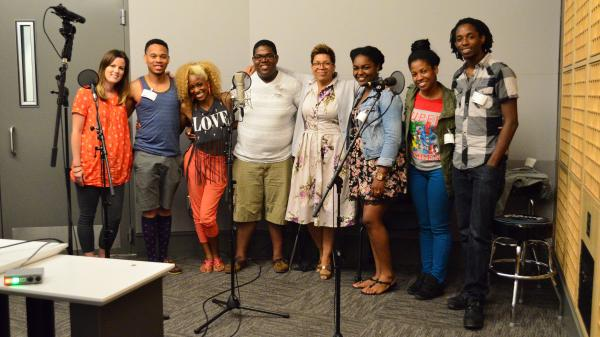 The a cappella group Traces of Blue joins host Michel Martin for an in-studio performance.