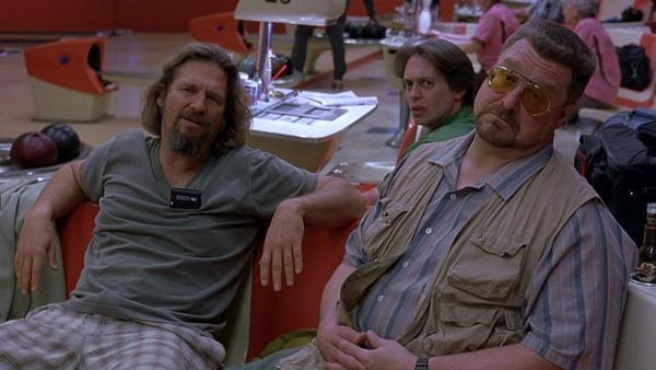 "Actors Jeff Bridges, John Goodman and Steve Buscemi are pictured in a scene from ""The Big Lebowski."" (Working Title Films)"