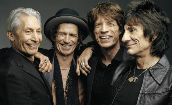 The Rolling Stones: Charlie Watts, Keith Richards, Mick Jagger, Ronnie Wood. (Mark Seliger)