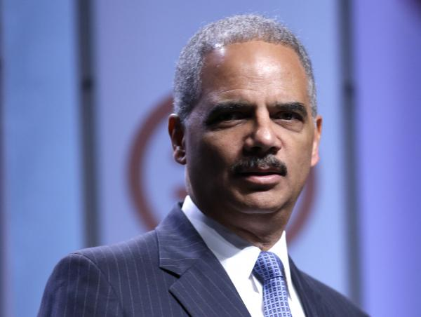 Attorney General Eric Holder speaks Thursday at the National Urban League annual conference in Philadelphia.