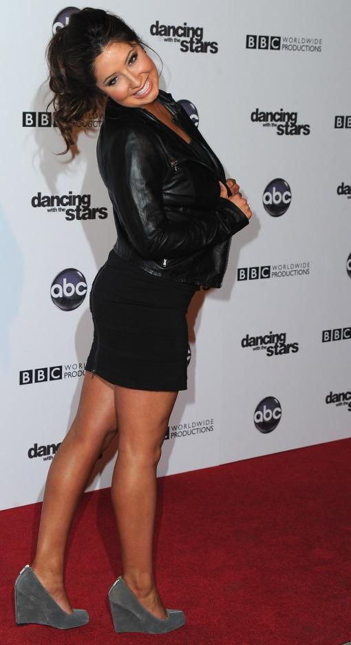 Bristol Palin at <em>Dancing With the Stars</em>' 200th episode party, Nov. 1 in Los Angeles.